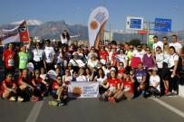 OMURİLİK FELÇLİLERİ - AEDAŞ, Runatolia'da Omurilik Felçlileri İçin Koştu