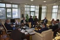 FAHRI ÇAKıR - AK Parti'den DTSO'ya Ziyaret