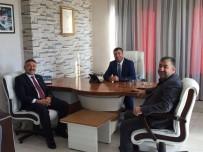 İÇEL İDMANYURDU - AK Parti'li Özkan'dan Başkan Karak'a Ziyaret