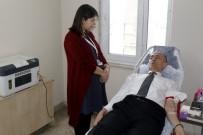 BILGE AKTAŞ - Akdeniz Belediyesi Personellerinden Kan Bağışına Destek