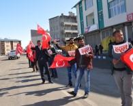 Bakan Arslan, Selim'de Bayraklar Ve Evetlerle Karşılandı
