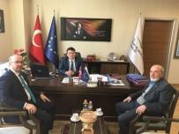 ORMAN BAKANLIĞI - Başkan Yardımcısı Eldemir, Avrupa Birliği Yatırımları Dairesi Başkanlığı'nı Ziyaret Etti