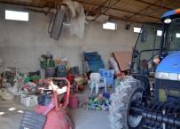 BENZİN İSTASYONU - Beypazarı'nda Hırsızlar Bağ Evlerini Soydu
