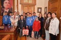 KALİTELİ YAŞAM - Bilecik Özel Eğitim Okullarından Başkan Yağcı'ya Teşekkür Ziyareti