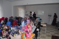 GÜVENLİ İNTERNET - Bingöl'de Kadınlara Güvenli İnternet Eğitimi Verildi