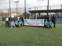 FUTBOL TURNUVASI - Diyanet Sen 15 Temmuz Şehitler Futbol Turnuvası Başladı