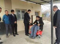 Engelli Vatandaşa Akülü Araba Verildi