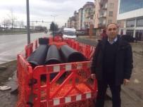 MUSTAFA YıLMAZ - İl Genel Meclis Üyesi Ömer Mustafa Yılmaz, Bitmek Bilmeyen Kanalizasyon Çalışmasına Tepki Gösterdi.