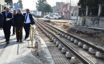 BOSTANLı - İzmir'deki Tramvay Hatlarında Çalışmalar İstenilen Seviyede
