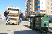 ÇÖP KUTUSU - Mezitli'ye Yeni Nesil Plastik Çöp Konteynerleri Yerleştiriliyor