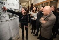 YıLDıZ TEKNIK ÜNIVERSITESI - Mimarlık Öğrencileri Başkan Altınok Öz'e Kartal İçin Hazırladıkları Projeleri Sundu