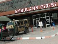 Havanlı saldırıda 4 askerimiz yaralandı