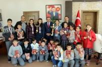 SEYRANI - Satranç Şampiyonlarından Başkan Cabbar'a Ziyaret