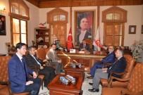 MALİ MÜŞAVİR - SMMMO'dan Başkan Yağcı'ya Ziyaret
