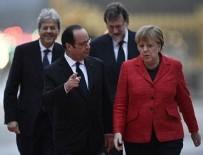 FRANSA CUMHURBAŞKANI - Versay Sarayı'nda Avrupa Birliği zirvesi