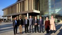KÜLTÜR TURIZMI - AK Parti Milletvekillerinden SOBE Ve Selçuklu Kongre Merkezine Ziyaret
