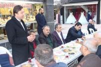 Çarşı Esnafı İle Buluşan Belediye Başkanı Bahçeci Ve AK Parti İl Başkanı Kendirli Referandumu Anlattı