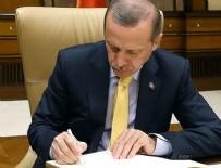ÇIN HALK CUMHURIYETI - Erdoğan 34 kanunu onayladı