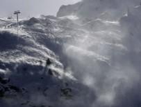 ÇIĞ DÜŞMESİ - Fransız kayak merkezinde facia!