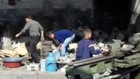 HASAR TESPİT - Gaziantep'teki Patlama Açıklaması 27 İş Yeri Zarar Gördü