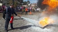 KıRKA - Kırka'da Yangın Eğitimi Ve Tatbikatı Yapıldı