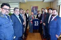 İÇEL İDMANYURDU - Mersin İdmanyurdu Yönetiminden Vali Çakacak'a Ziyaret
