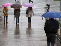 BAHAR HAVASI - Meteorolojiden yağmur uyarısı