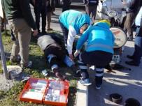 Milas'ta Motosiklet İle Tır Çarpıştı; 1 Yaralı
