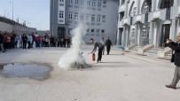 YANGIN TATBİKATI - Okullarda Yangın Tatbikatı