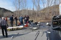 Osmancık'ta Trafik Kazası Açıklaması 2 Yaralı