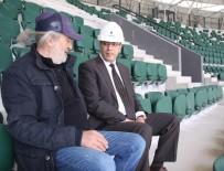 TAŞ OCAĞI - 2024 Avrupa Şampiyonası Adaylığı Sürecinde Bir Stadyum Daha Tamamlanıyor