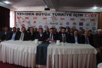 BÜROKRATİK OLİGARŞİ - Sivas'ta 48 STK 'Evet Platformu' Oluşturdu
