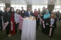KIRMIZI GÜL - Başkan Temel Karadeniz'den Kadın Personele Özel Resepsiyon