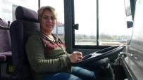 ARAÇ KULLANMAK - Edirneli 'Şoför Nebahat' Kadınlar Günü'nde Direksiyon Başında