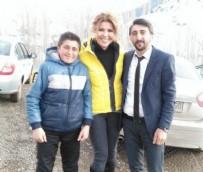 SOSYAL BILGILER - Erzurum'un küçük bir köyüne Amerika'dan yardım geliyor
