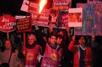 KADIN PLATFORMU - Eskişehirli Kadınlar 8 Mart'ı Coşkuyla Kutladı