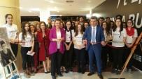 PARMAK - Fatma Kaplan Hürriyet, Öğrenciler İle Buluştu