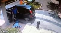 SAO PAULO - Gasp Etmek İstediği Kişi Polis Çıkınca...