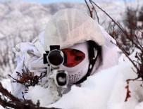 İNSANSIZ HAVA ARACI - Güvenlik güçleri PKK'ya kışın da göz açtırmadı