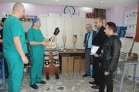 KALIFIYE - İl Sağlık Müdürlüğü Ekipleri Ortez-Protez Merkezlerini Denetledi