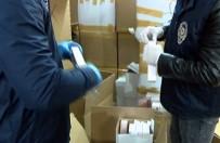 BILIRKIŞI - İstanbul'da 500 Bin Dolarlık Sahte Parfüm Ele Geçirildi