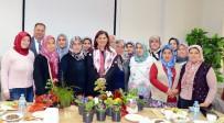 ÖZLEM ÇERÇIOĞLU - Kadın Çiçek Üreticileri Başkan Çerçioğlu'nu Ziyaret Etti
