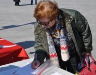 DAYAK - Kadına Yönelik Şiddete Karşı İmza Topladılar