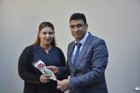 HASTANE YÖNETİMİ - Kaymakam Çimşit'ten Kurumlarda Çalışan Bayan Personele Karanfil