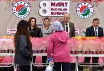 MUSTAFA ÖZSOY - Kepez'den Kadınlara 20 Bin Sümbül