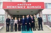 YONCALı - Malatya Valisi Mustafa Toprak'dan Yeni Kaymakama Hayırlı Olsun Ziyareti