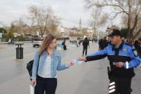 TOPLUM DESTEKLI POLISLIK - Manavgat Polisi Kadınları Uyardı