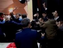 MERSIN - MHP'li muhaliflerin toplantısında olay