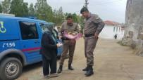 Milas'ta Şiddet Mağduru Kadınlar Yalnız Bırakılmadı