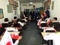 TRAFİK EĞİTİM PARKI - Minik Öğrenciler Trafiği Yerinde Öğreniyor